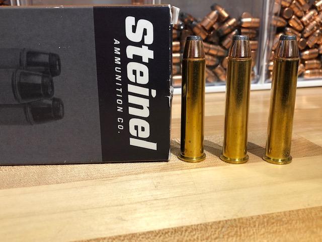 Some Steinel Ammo 300-grain Hornady Interlocks