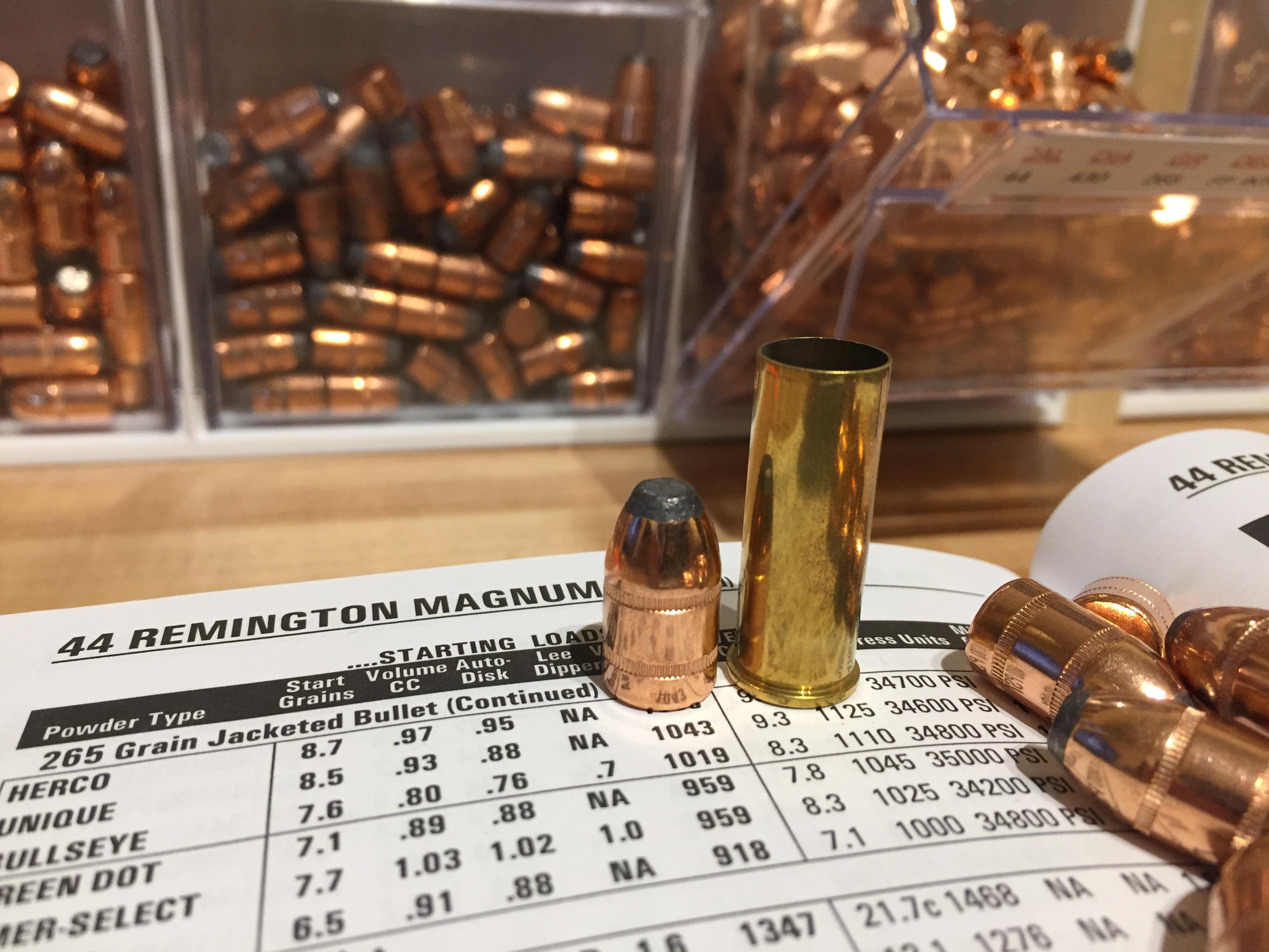 The 44 Magnum Cartridge
